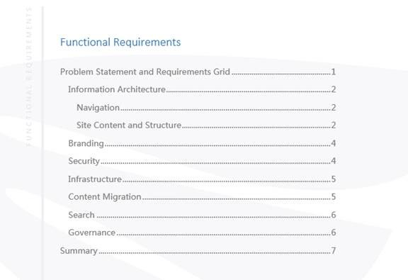 Why Your Sharepoint Project Should Start With Functional Requirements