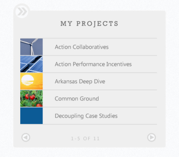 My Projects - Example of a SharePoint 2013 Search Based Intranet