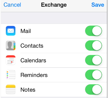 Setting Up Exchange Online on Your iPhone6