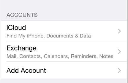 Setting Up Exchange Online on Your iPhone3