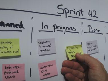 Blog - Project Management Sticky Notes
