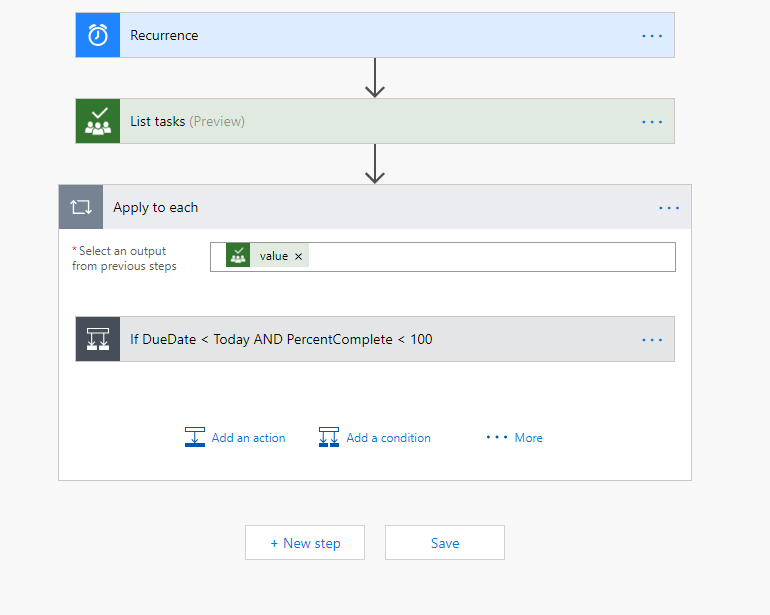 How to Link to a Planner Task Using Microsoft Flow