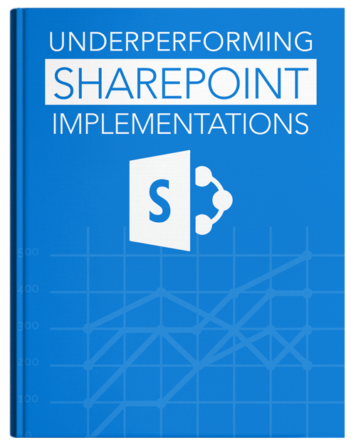 Underperforming sharepoint implementation